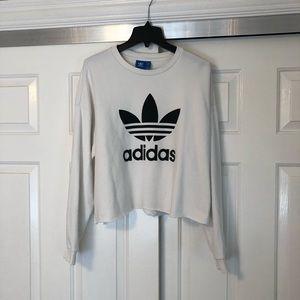 Adidas cropped crewneck